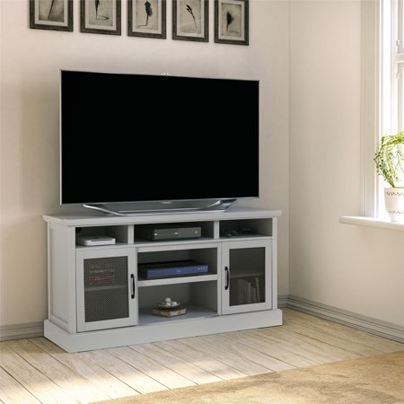 "Cresthaven TV Stand for TVs up to 65"", Dove Gray"