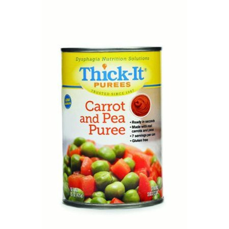 Peas & Carrots (Thick-It, Puree Carrot & Pea 15Oz  (Units Per Case:)