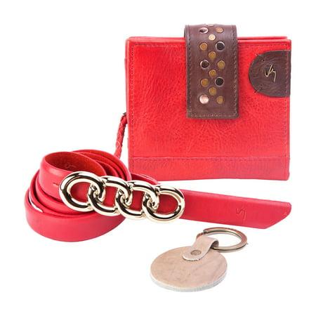 69eb83625 VELEZ - Velez Women Genuine Full Grain Leather Bifold Small Wallets  Billeteras de Cuero - Walmart.com