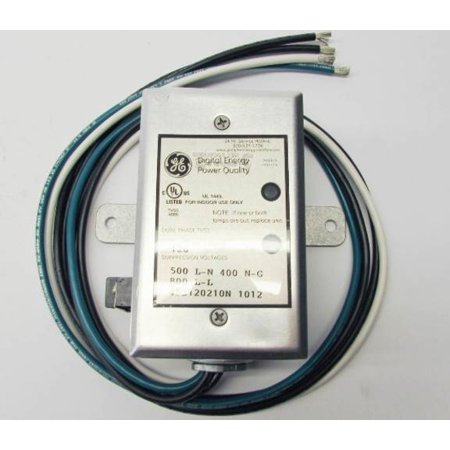 New GE 452120210N 120V Transient Voltage Surge Suppressor Dual Phase TVSS SPD - Over Voltage Transient Suppressor