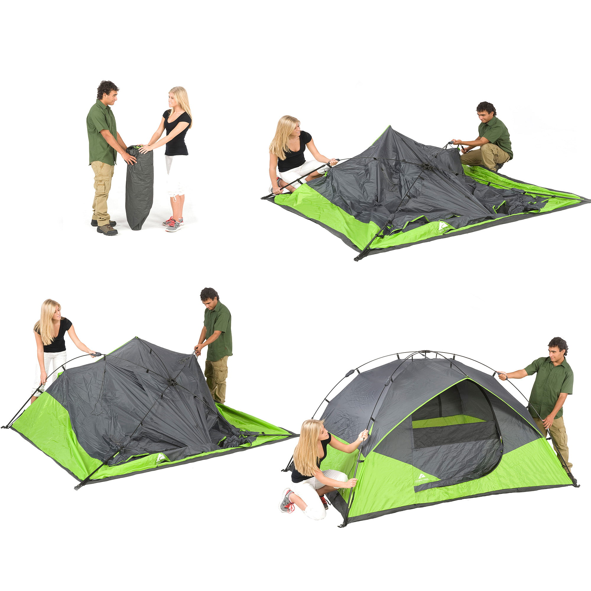 trail instant cabin com walmart cabins sleeps person tent ozark ip