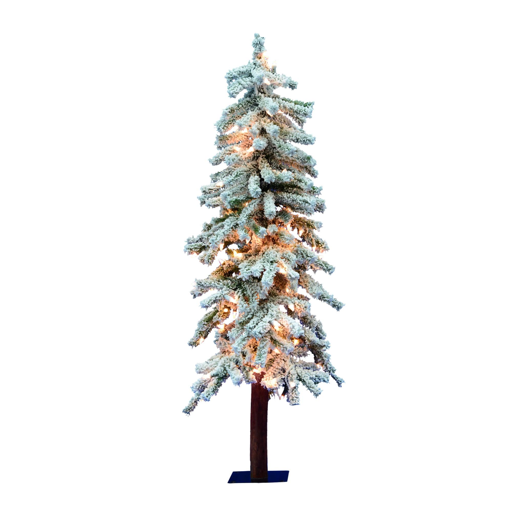 "50 Foot Christmas Tree: Vickerman Artificial Christmas Tree 3' X 22"" Flocked"