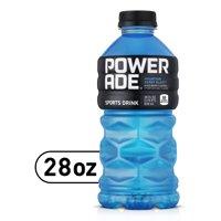 POWERADE Mountain Berry Blast, ION4 Electrolyte Enhanced Fruit Flavored Sports Drink w/ Vitamins B3, B6, and B12, Replenish Sodium, Calcium, Potassium, Magnesium, 28 fl oz