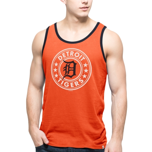 Detroit Tigers '47 All Pro Team Tank Top - Orange