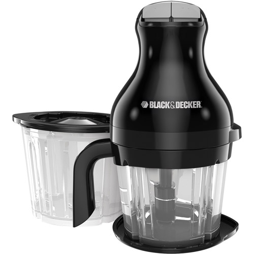 BLACK+DECKER OptiPrep Chop and Blend 5-Cup Food Processor and Blender, PS2000BD