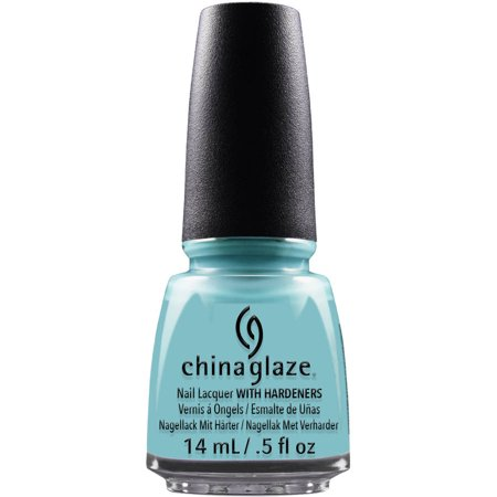 China Glaze Nail Lacquer with Hardeners, For Audrey, 0.5 fl