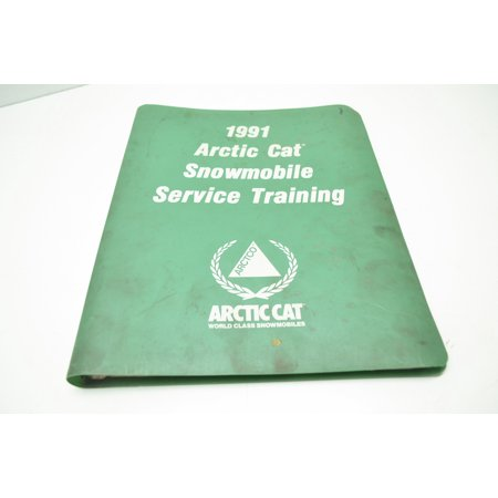 Car Service Manual - Arctic Cat Manual22-3 1991 Snowmobile Service Training Manual QTY 1