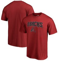 Arizona Diamondbacks Fanatics Branded Team Lockup T-Shirt - Red