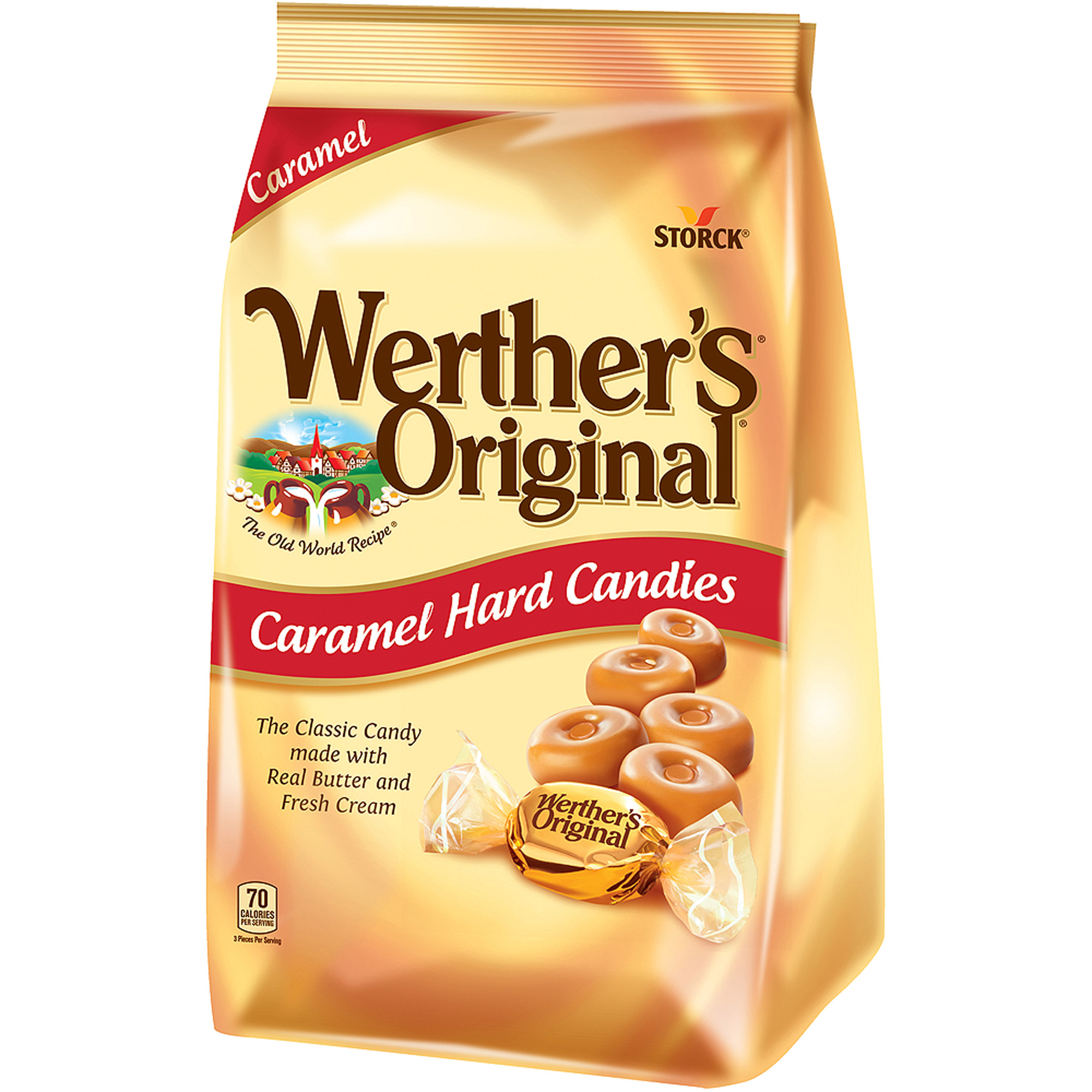Werther's Original Gusset Bag, 34 oz