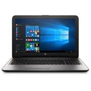 "HP 15-ay039wm 15.6"" Silver Fusion Laptop, Windows 10, Intel Core i3-6100U Processor, 8GB Memory, 1TB Hard Drive"