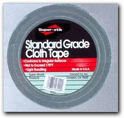"Carrand 2600 Cloth Duct Tape, 2"" x 60 Yard"