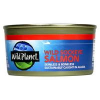 Wild Planet Wild Alaska Sockeye Salmon, 6 Ounce
