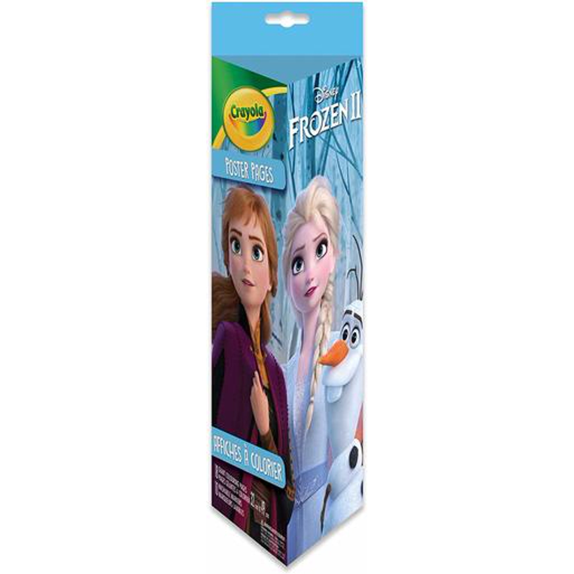 Crayola Disney Frozen Ii Poster Coloring Pages 18 Pages 10 Washable Markers 32 Cm X 49 Cm Walmart Canada