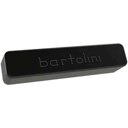 - Bartolini BRPX44CBJS_B1/T1 Classic X4 Soapbar Single Coil 4-String Bass Pickup Set