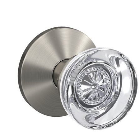 Schlage Custom Hobson Hall Closet And Bed Bath Glass Knob