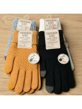 Women Men Winter Gloves Touch Screen Gloves Outdoor Sport Driving Gloves Mittens