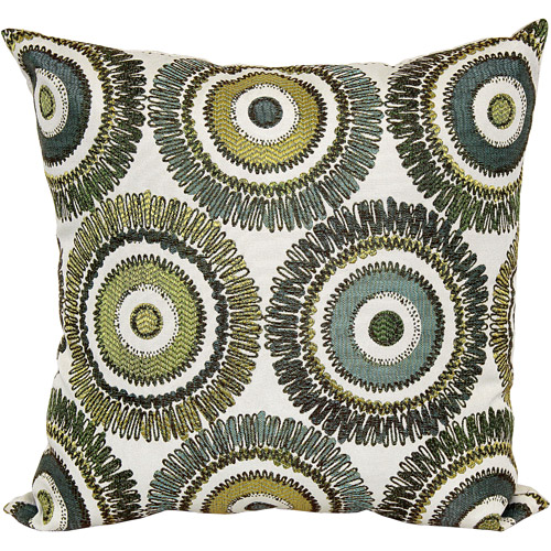 Mainstays Microfiber Twill Accent Decorative Throw Pillow 40 X 40 Stunning Decorative Pillows With Circles