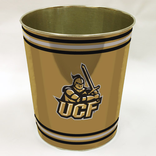 NCAA University of Central Florida Knights Wastebasket