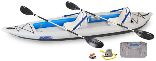 Sea Eagle 385FT FastTrack Inflatable Kayak Deluxe Package by Sea Eagle Boats, Inc.