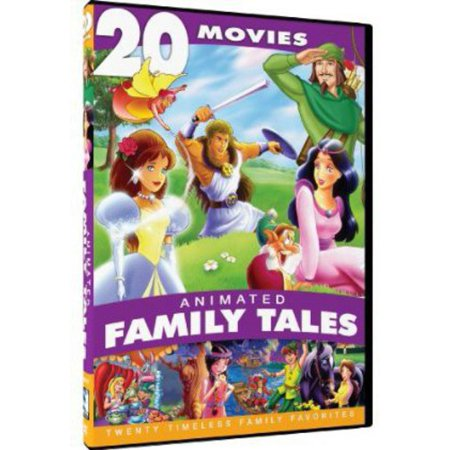 Animated Family Tales   20 Movie Collection