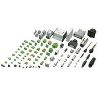 3001705, Conn Ground Modular Terminal Block F 3 POS Screw ST T DIN Rail (2 items)