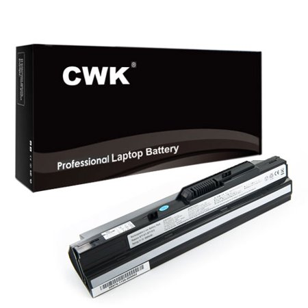 CWK® 7800mAh 9 Cell New High Capacity Battery for Advent 4211 MSI Wind12 U200 U210 U230 LG X110 BTY-S12 BTY-S11 MSI Wind U100-001CA Wind U100-002 Pearl BTY-S11 BTY-S12 MSI Wind U90 U90X U100 U100X