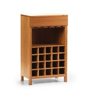 Greenington Orchid Wine Cabinet in Classic Bamboo