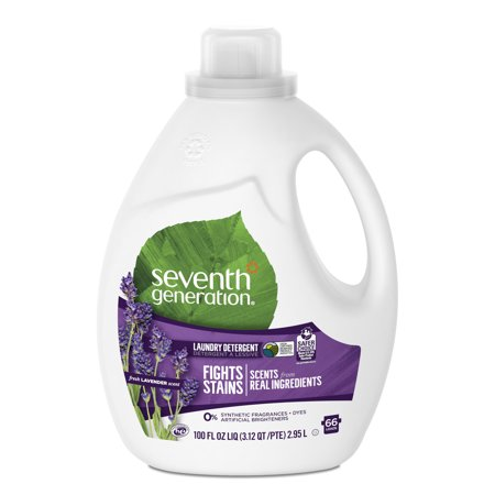 Seventh Generation Liquid Laundry Detergent Fresh Lavender 100 oz