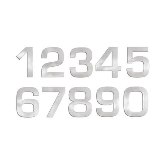 Blomus 68186 stainless steel house number 3