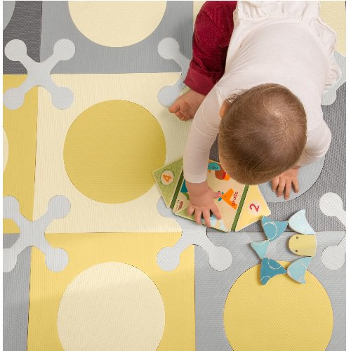 Skip Hop Playspot Playmat Gold Grey