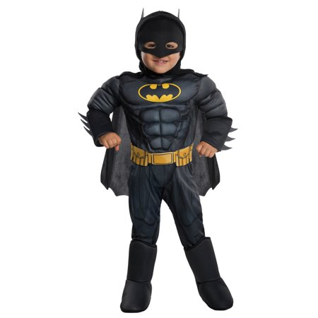 Deluxe Batman - Toddler Costume - Padded Batman Costume