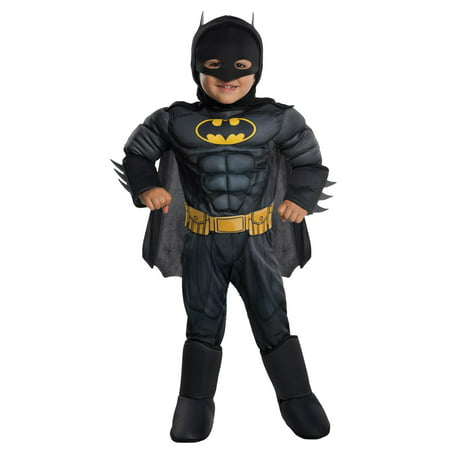 Deluxe Batman - Toddler Costume - Batman Costume For Children