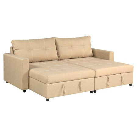 A C Pacific Robin Sofa Chaise With 2 Storage Compartments
