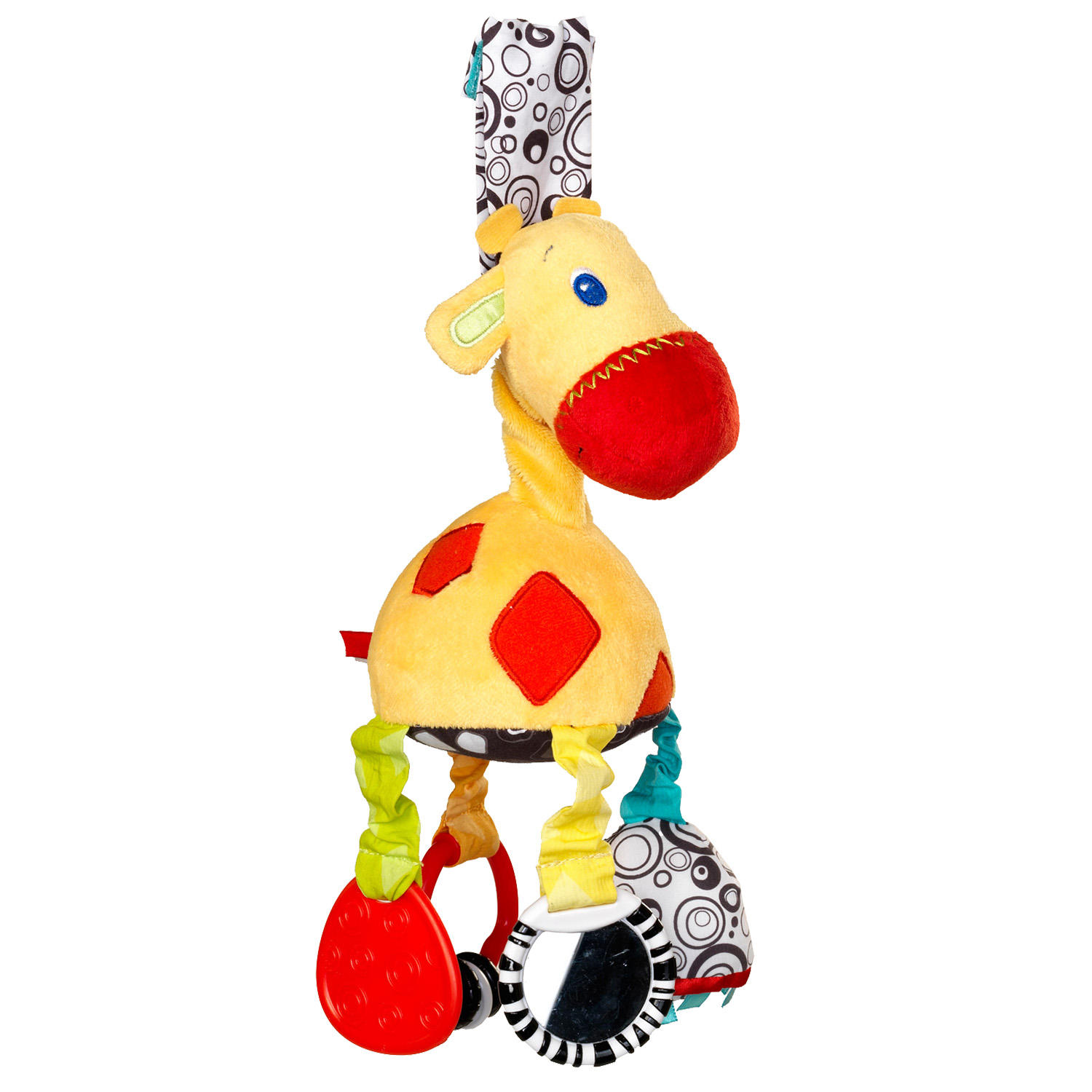 Bright Starts Start Your Senses  Sensory Giraffe Take Along Toy