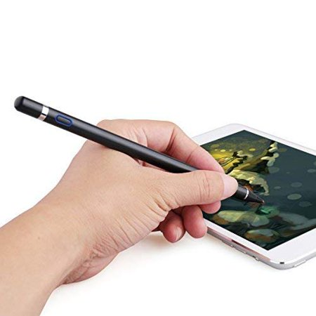 Capacitive Stylus Pens 1.45mm Fine Point Cap Active Digital Smart Pencil for Drawing Writing on Touch Screens For iPad Pro 2018,9.7