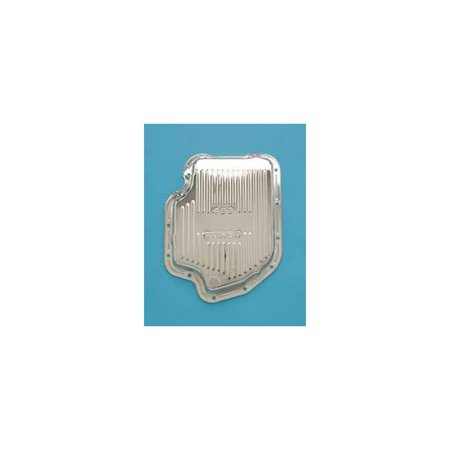Eckler's Premier  Products 40169146 Full Size Chevy Turbo HyrdaMatic 400 Transmission Pan Chrome