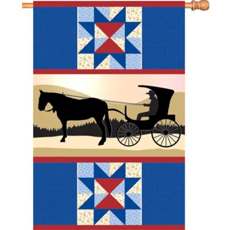 Premier House Size Flag - Amish Country