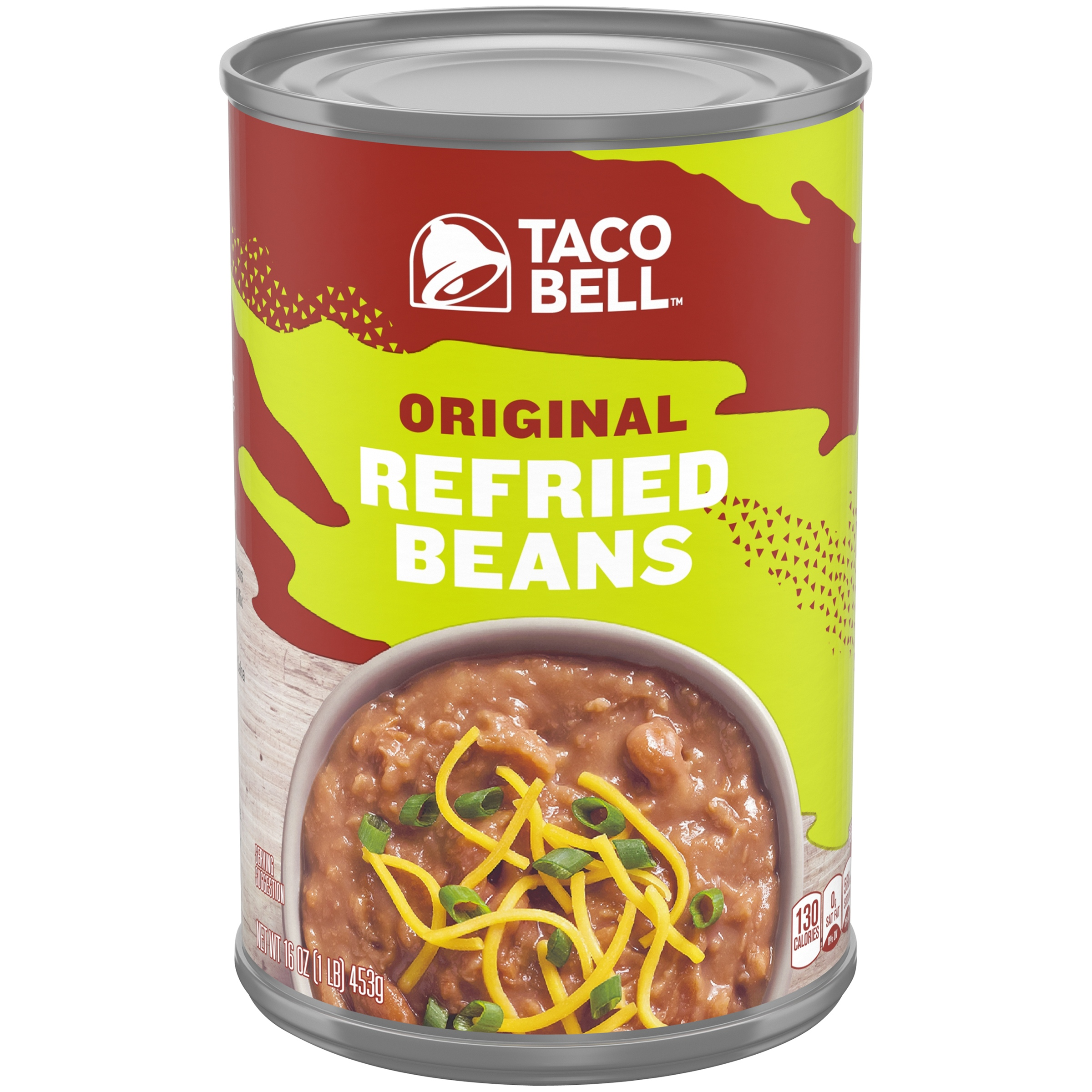 Taco Bell Original Refried Beans 16 oz. Can