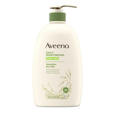 Aveeno Daily Moisturizing Body Wash with Soothing Oat, 33 fl. oz (Bora Bora Body Wash)