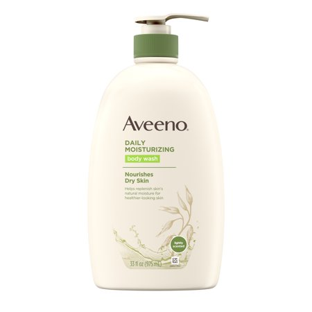 Aveeno Daily Moisturizing Body Wash with Soothing Oat, 33 fl.