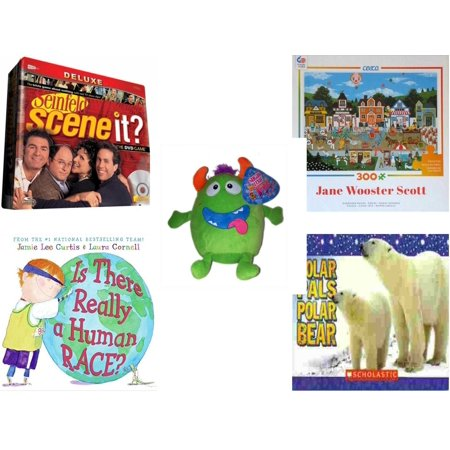 Polar Bear Game (Children's Gift Bundle [5 Piece] -  Scene It? Seinfeld - Circus Pandemonium   - Sugarloaf s Green Monster  8