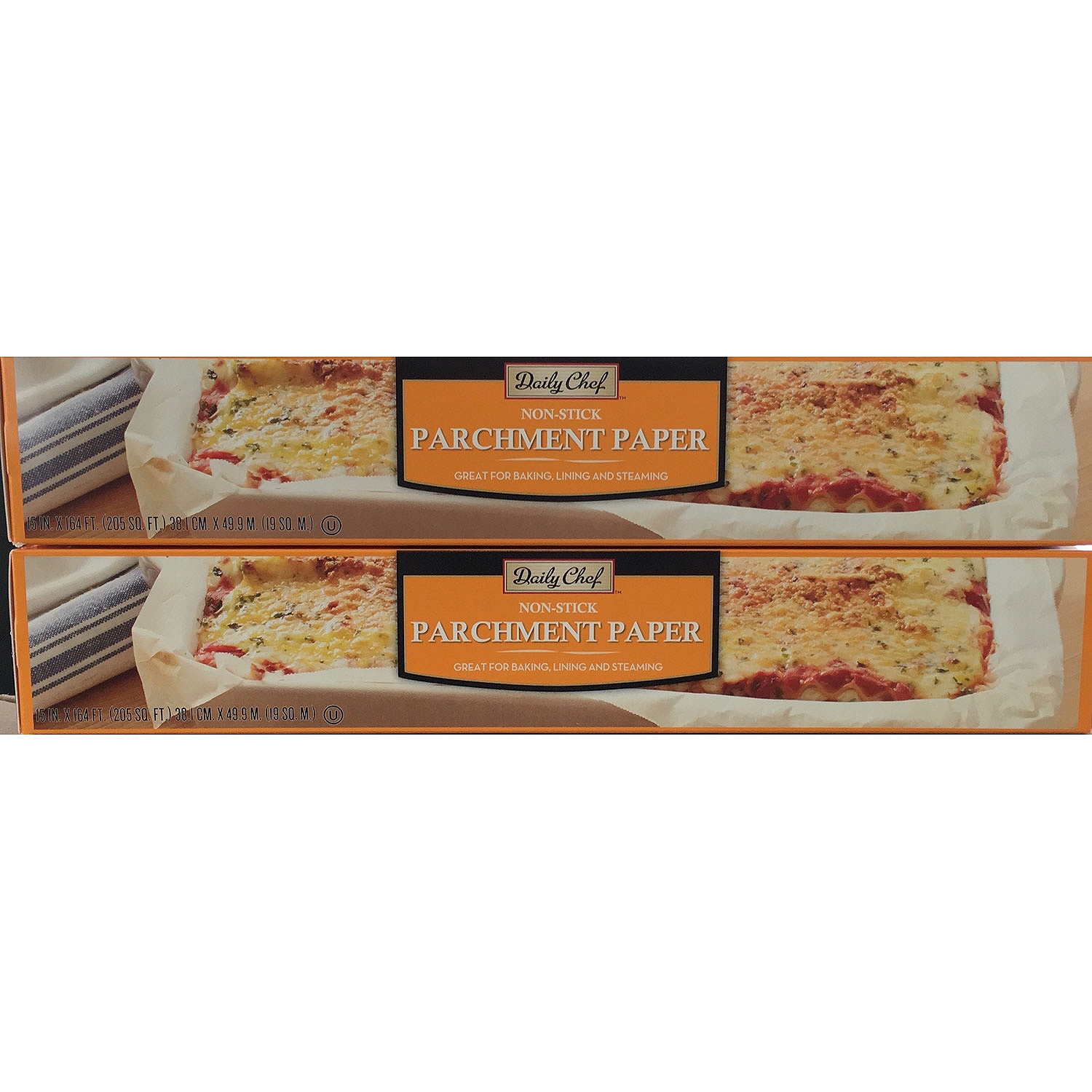 Daily Chef Parchment Paper, 2 Rolls, 205 Feet Each