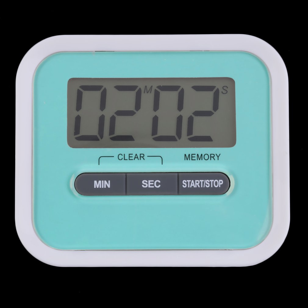 Large Fashion Multifunction Plastic LCD Kitchen Cooking Timer Count ...