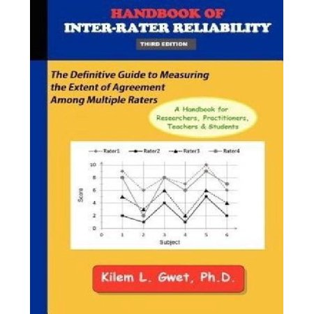 Handbook Of Inter Rater Reliability 3rd Edition The Definitive