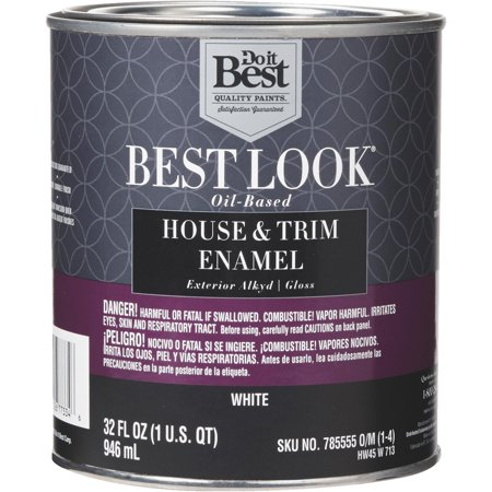 Best look oil based alkyd gloss exterior house trim enamel paint - Best oil based exterior paint collection ...