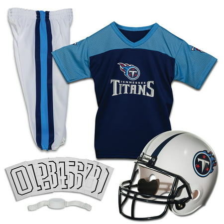 Franklin Sports NFL Tennessee Titans Youth Licensed Deluxe Uniform Set,