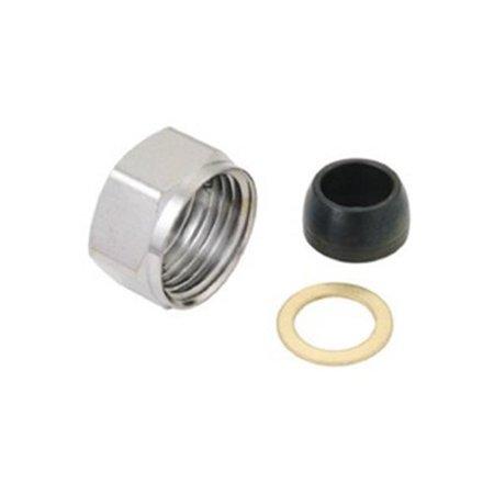 Plumbers Kit - 0.25 x 0.43 in. Master Plumber Nut Kit