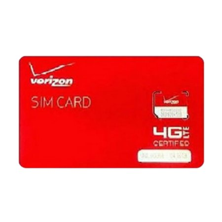 Verizon Wireless Micro 4G Lte Certified 3Ff Sim Card