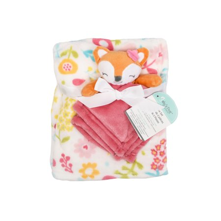 Baby S First By Nemcor 2 Piece Blanket And Buddy Gift Set