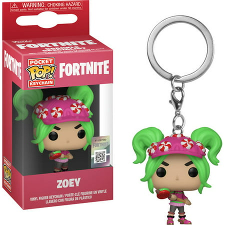 FunKo POP! Keychain, Fortnite Zoey